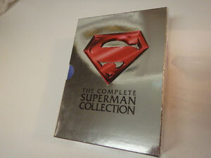 Coffret Superman ''Box Set'' DVD Ultimate edition 1978 à 1987