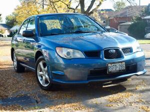 2007 Subaru Impreza 2.5i Sedan