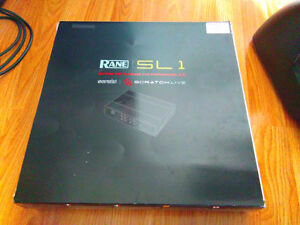 Serato Sl-1 with Control Vinyl and CD's, original box and manual