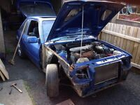 Ford Escort Classic XR3i Project 1987