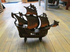 *On Sale Now - 50% OFF* Metal Nautical Sail Ship Light