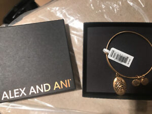 Alex and Ani new with tags in box