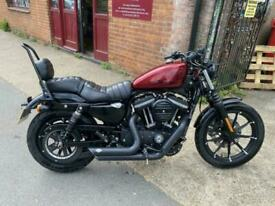 2016(66) Harley Davidson Sportster XL883N Iron ABS - Hard Candy Red - 5150 miles