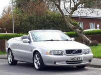 Volvo C70 2.0 auto 2003MY T GT,CONVERTIBLE,READY FOR THE SUMMER