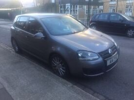 VW VOLKSWAGEN GOLF GT TDI SPORT DSG AUTOMATIC 170bhp 2008 fully loaded full leather lady owner