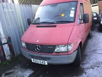 Mercedes sprinter wanted any condition 310d 312d