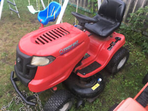 Great condition riding lawnmower $1000 or possible trades