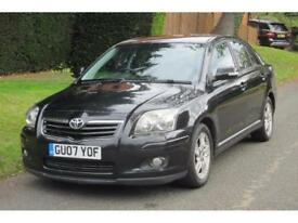 Toyota Avensis 1.8 VVT-i auto 2007MY T3-X AUTOMATIC/1 FORMER KEEPER