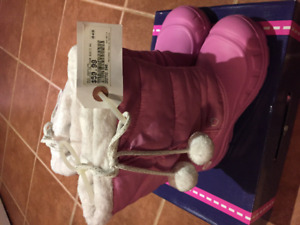Skechers Boots - pink (girls) - Size 4
