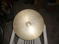 Avedis Zildjian ride cymbal