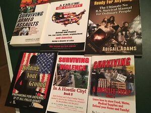 6 PAPERBACK BOOKS_SURVIVING DISASTER AND HOW TO'S Sarnia Sarnia Area image 3