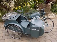 SIDECAR MOTORCYCLE REPLICA PROP BRAND NEW free p & p