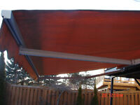 12x9 Retractable patio Awning