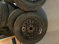 17 inch rims and 215/65/r17 tires for sale