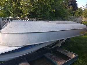 12 foot Peterborough aluminum boat