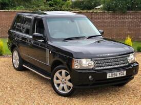 2006 56, Land Rover Range Rover 4.2 V8 auto Supercharged Vogue SE + LOW MILEAGE