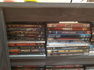 DVDs, Games and tv show seasons