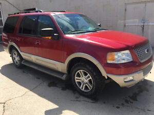 SOLD! 2006 Ford Expedition Eddie Bauer 4x4 Leather Tow Package