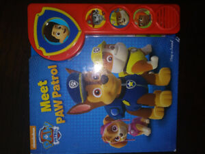 Meet Paw Patrol Boarkbook Play-a-sound Electronic