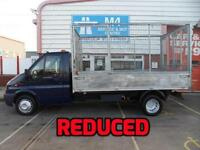 Ford Transit CAGED TIPPER 125PS ELECTRIC AXLE A/C