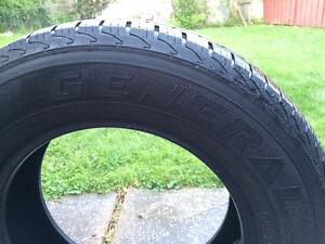 SET OF 4 Truck tires/or minivan tires