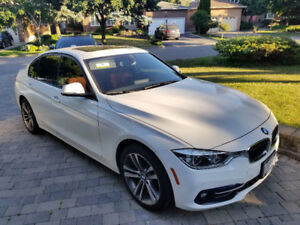 2017 BMW 330i xDrive, Red Int, Sport, Low KM, Lease Takeover
