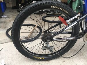 Maxxis high roller back tire