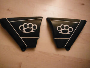 1979 Suzuki GS750 GS750L Side covers. 47111-452000 47211-452000