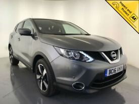 2016 NISSAN QASHQAI N-CONNECTA DIG-T AUTOMATIC SAT NAV 1 OWNER FINANCE PX
