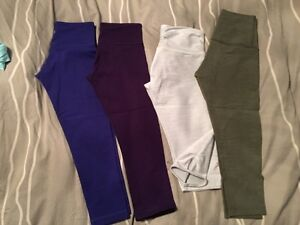 Lots of Lululemon for sale!  Sizes 2 & 4!