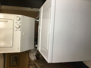 MAYTAG STACKED WASHER - DRYER SET