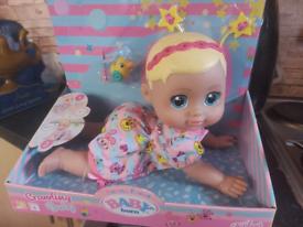Baby Born crawling baby bnib