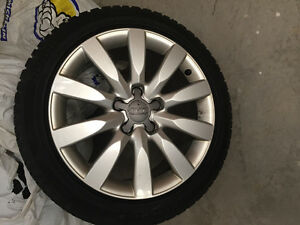 Rims and tire