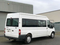 2009 Ford Transit 350 Window Minibus Camper Race Bike Van - NO VAT