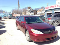 2004 TOYOTA CAMRY WITH FRESH SAFETY AND MINT CONDITION