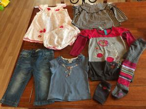 Vêtements de marques fille 12-18 mois