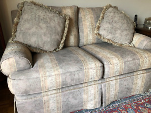 Couch, love seat and a chair