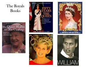 QUEEN ELIZABETH, QUEEN MOTHER, DIANA & WILLIAM
