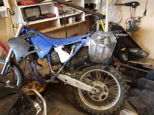 2000 YZ250 - Completely disassembled, winter project