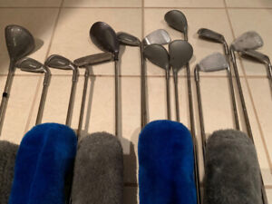 Right Handed Men's set of Golf Clubs + NEW Stand Bag!
