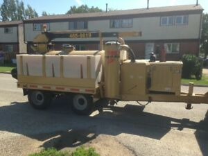 Hydrovac trailer