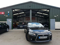 2009 Mitsubishi Lancer 2.0DI-D Sportback DIESEL MANUAL GS3 BLACK ALLOYS