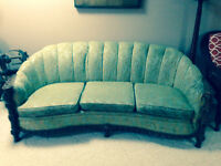 Circa 1940s couch and chair