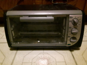 Counter top.toaster oven.for sale.
