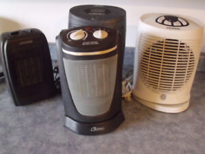 1500 Watt portable space heaters. Located in Peace River