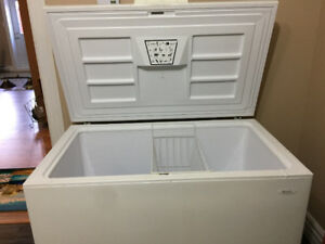 15 cubic ft Chest Freezer.