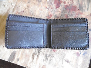 WALLET HAND CRAFTED LEATHER West Island Greater Montréal image 2