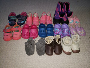 13 Baby/Toddler Girl Shoes