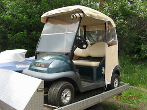 For Sale ...Golf Cart and enclosure