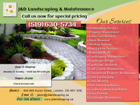 Spring Is Here, Be Prepared. Landscaping